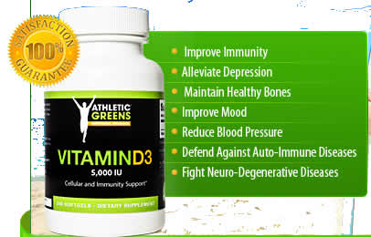 Athletic Greens Vitamn D3 Review