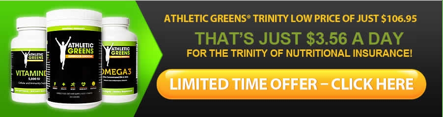 Athletic Greens Trinity Stack Official Website